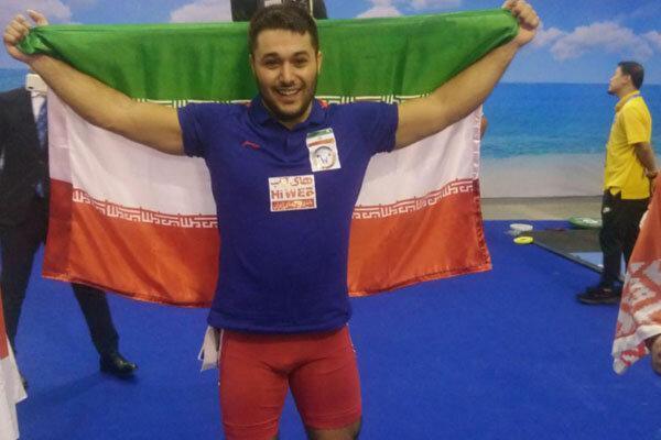 علی میری نایب قهرمان دسته 89 کیلوگرم دنیا شد