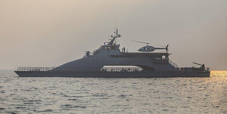 تسلیح شناور شهید ناظری توسط نیروی دریایی سپاه