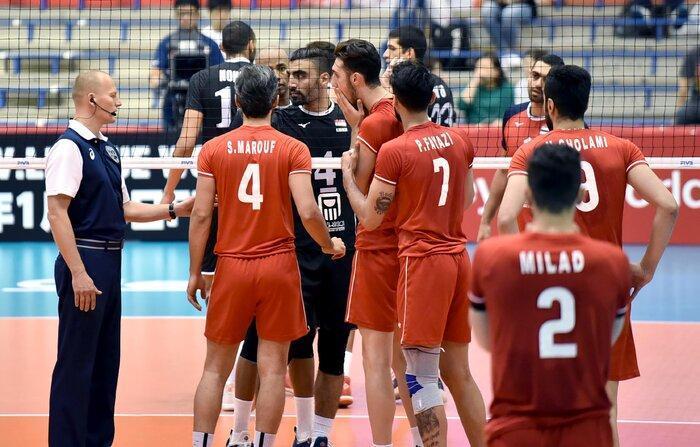 مصر 3 - ایران یک ، شکست غیرمنتظره والیبال ایران در دومین بازی خود در جام جهانی