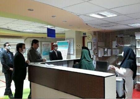 بازدید سرزده فرماندار دره شهر از حوزه بهداشت و درمان