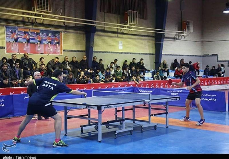 لغو مرحله پلی آف لیگ برتر تنیس روی میز