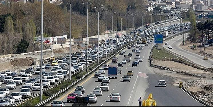 کاهش ترافیک در ورودی کلانشهر تهران