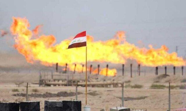 آتش سوزی در چاه نفت در جنوب موصل مهار شد