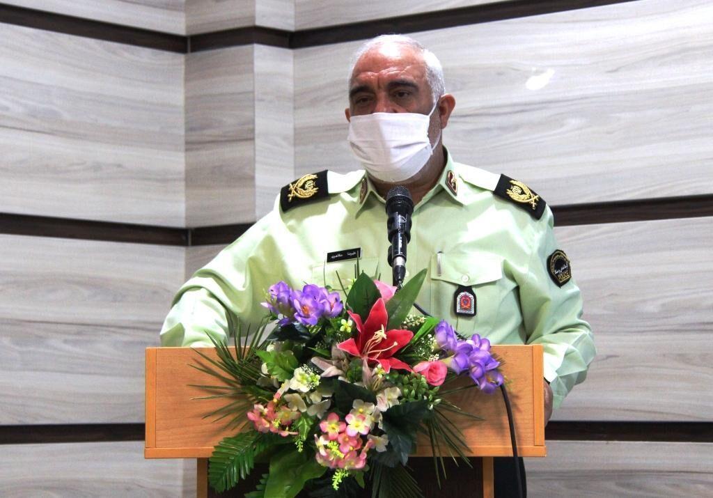 خبرنگاران فرمانده انتظامی خراسان شمالی: رسانه ها نقش موثری در کاهش جرائم دارند